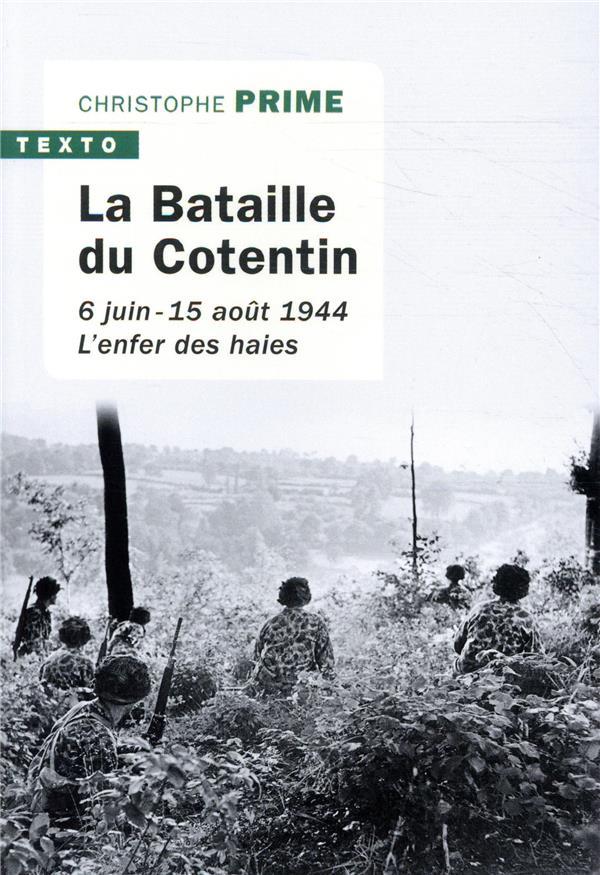 Couverture de La Bataille du Cotentin, éditions Tallandier